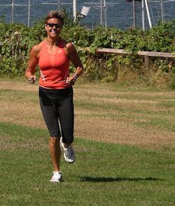 Angela ChiRunning at Hastings Park