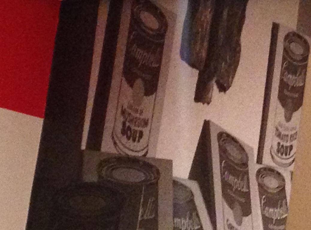 Soup cans a la MOMA